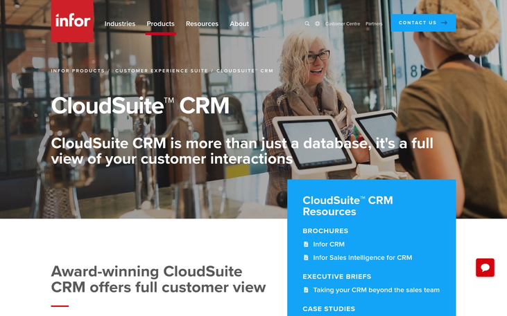 Infor - Online CRM Software