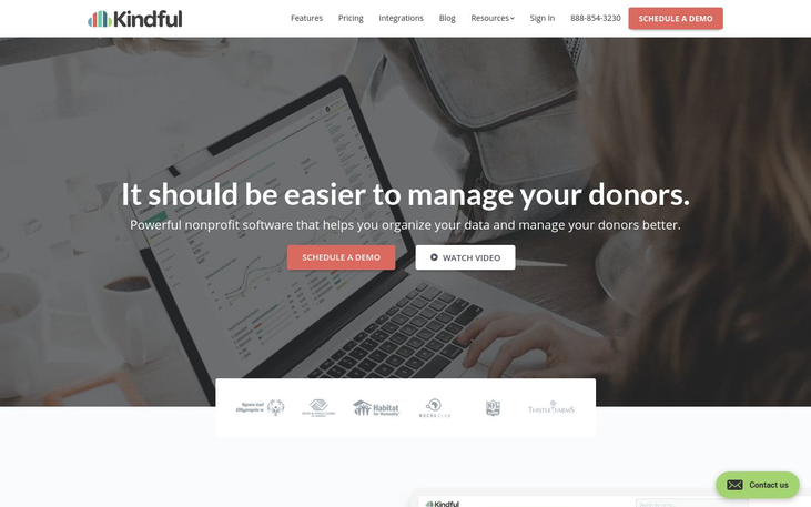 Nonprofit Software By Kindful