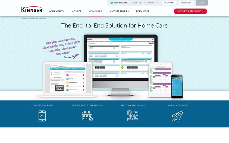 Kinnser ADL - Home Care Software