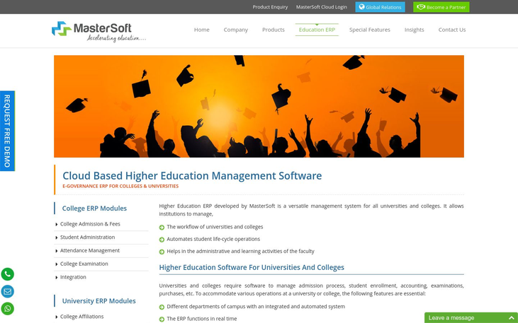 MasterSoft - Higher Education Software