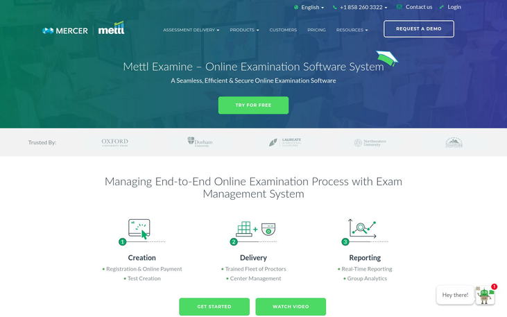Mettl - Exam Software