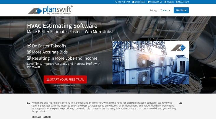 PlanSwift By HVAC Estimating Software