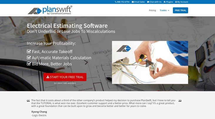 Planswift Software - Electrical Estimating Software