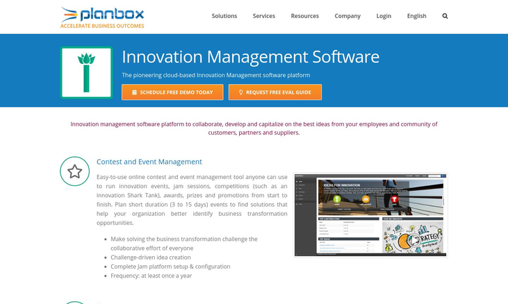 Planbox - Innovation Software