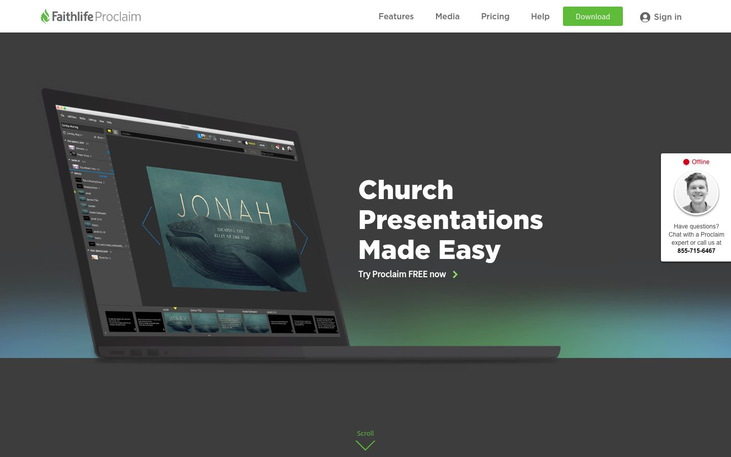 Proclaim - Church Presentation Software