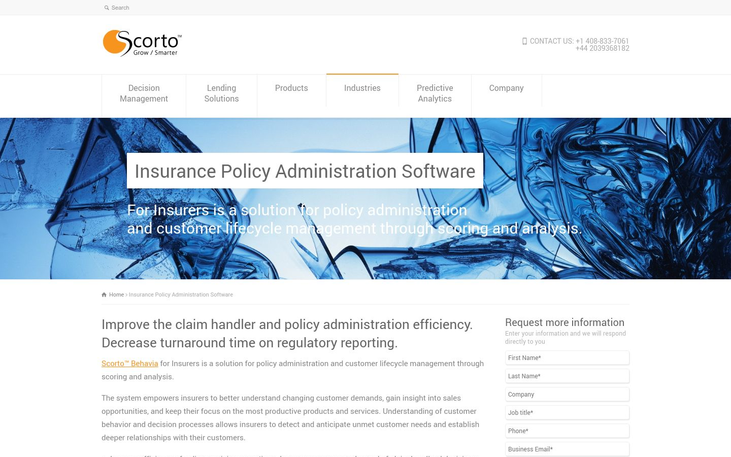 Scorto Behavia - Insurance Policy Software