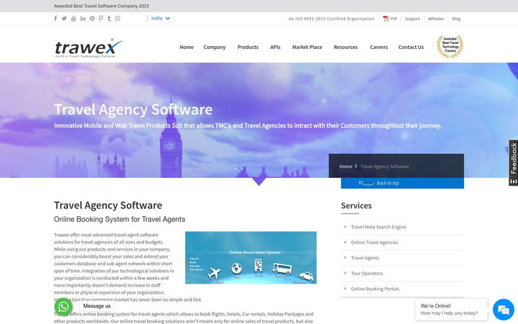 Trawex - Travel Agency Software