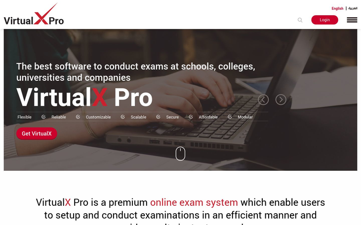 VirtualX Pro - Exam Software