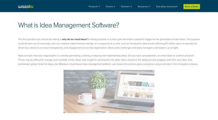 Wazoku - Idea Management Software