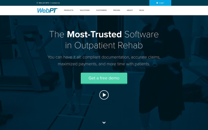 WebPT – Physical Therapy Software