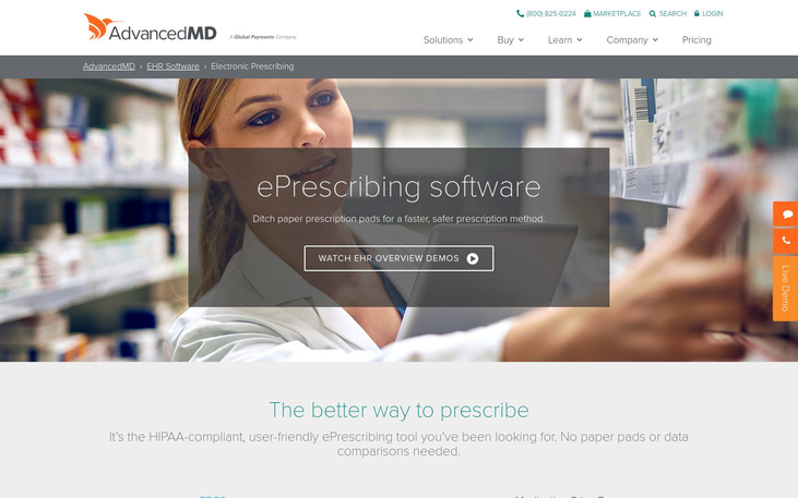 AdvancedMD – ePrescribing Software