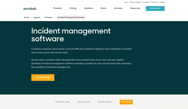 Incident Management Software By Zendesk