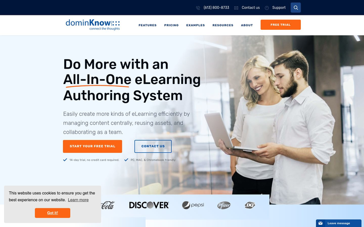 dominKNOW - eLearning Authoring Software