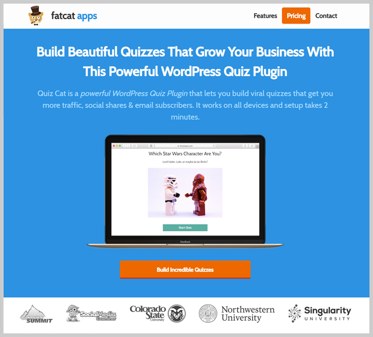 Quiz Cat - Online Exam WordPress Plugin