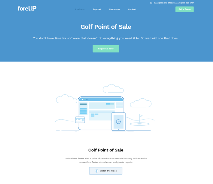 foreUpgolf - Golf Course Software