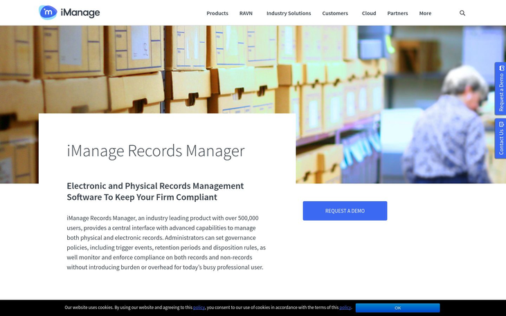 iManage Records Manager