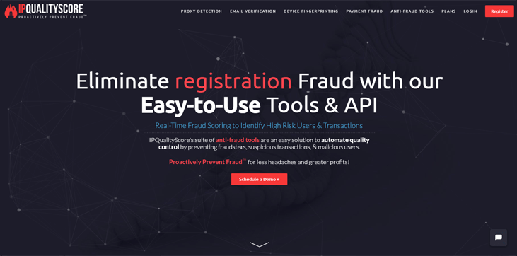 IPQualityScore - Fraud Detection Software