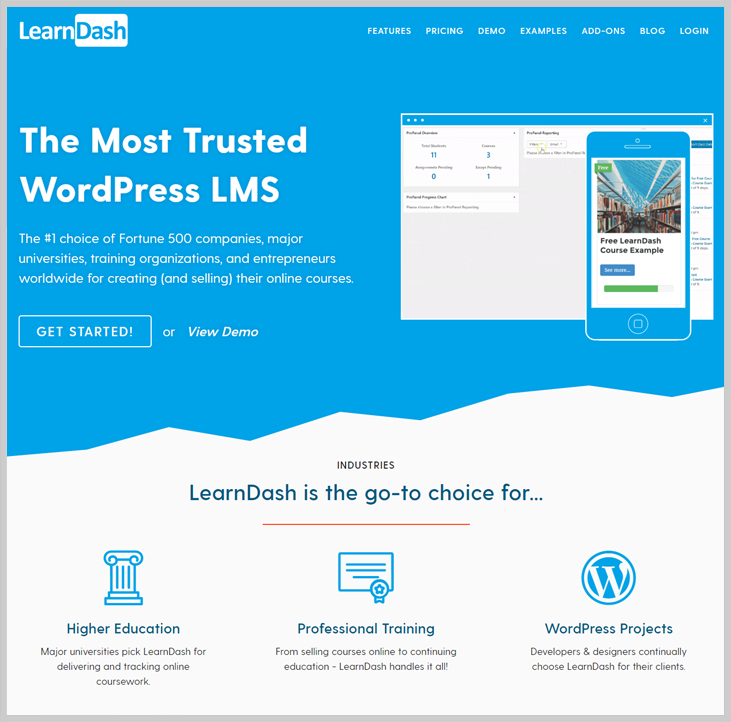 LearnDash - Online Exam WordPress Plugin