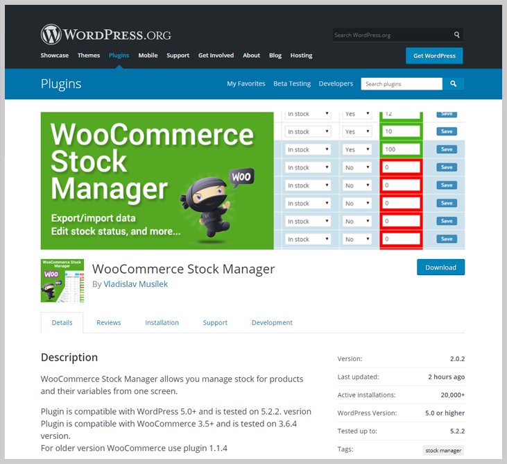 WooCommerce Stock Manager - Inventory WordPress Plugin