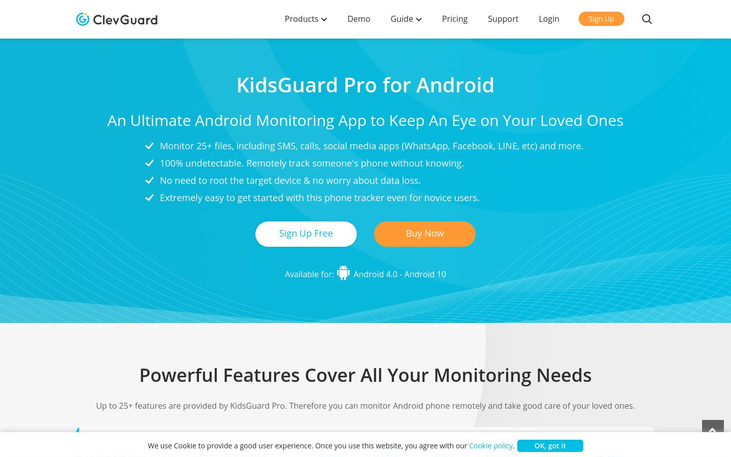 KidsGuard Pro - Application Monitoring Software