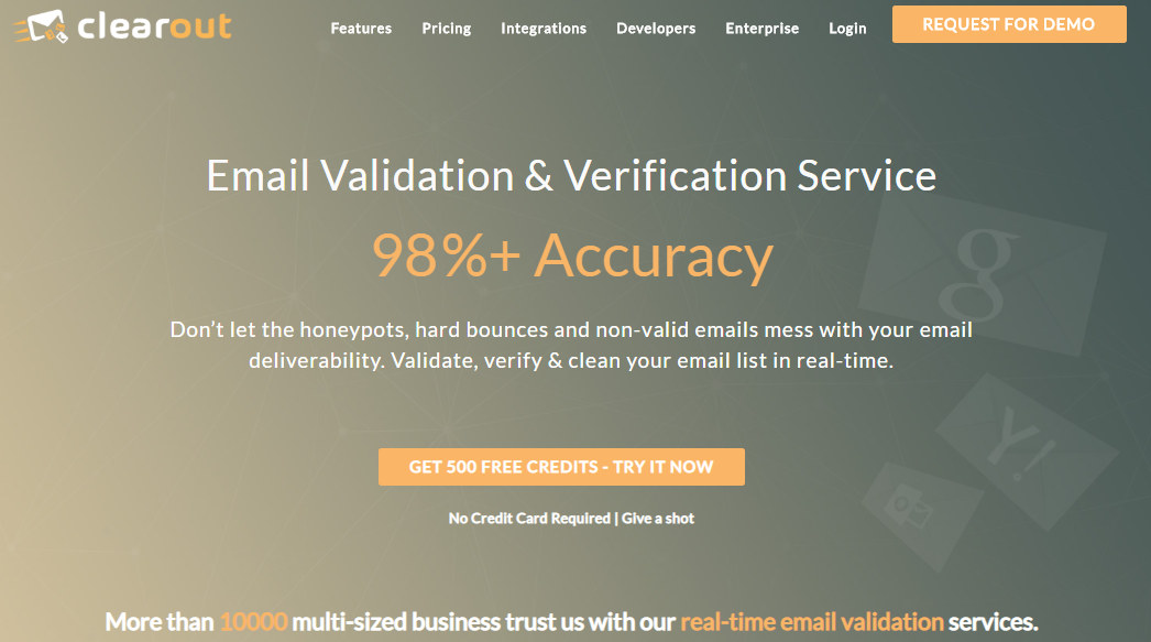 Clearout - Email Verification Services