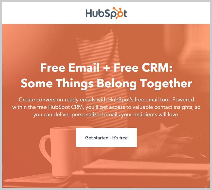 HubSpot - Email Marketing Package At Your Door Step