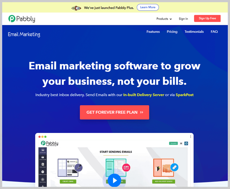 Pabbly Email Marketing - Best Drip Email Marketer