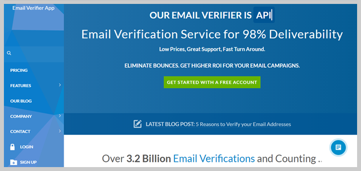 Email Verifer App List Cleaning Service