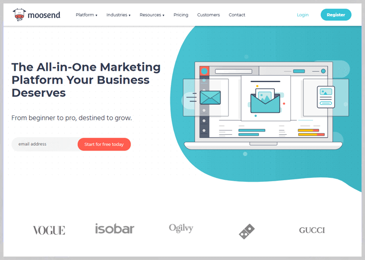 Moosend - Email Marketing With An Edge