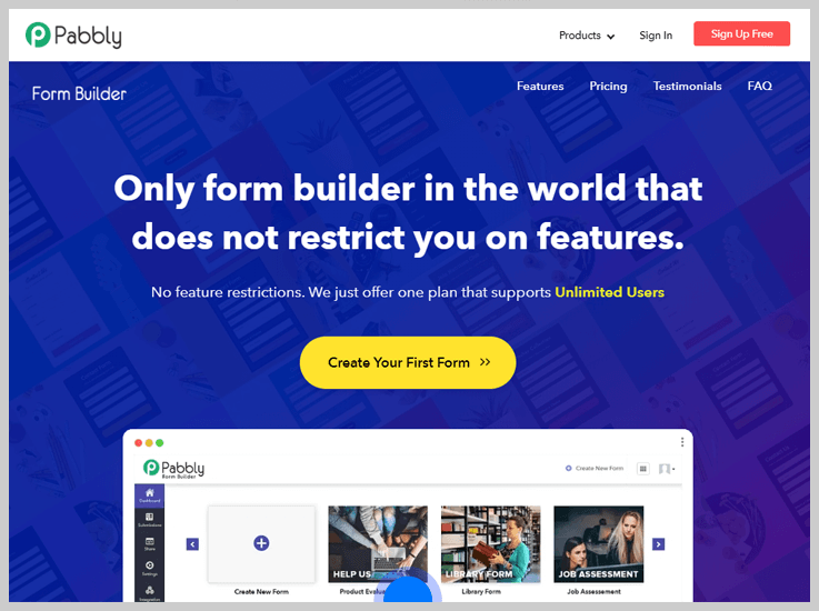 Pabbly Form Builder - The Best PayPal Payment Form