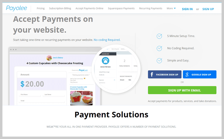 Payolee - Subscription Payment Software