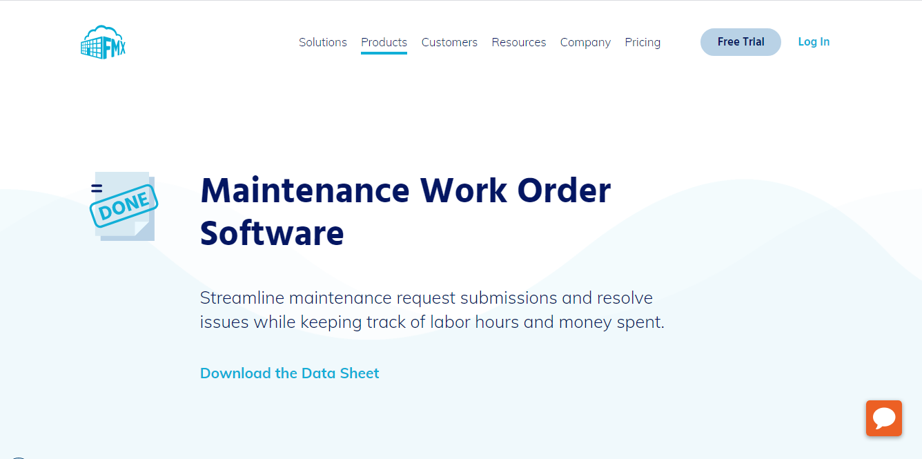 FMX's Work Order Software