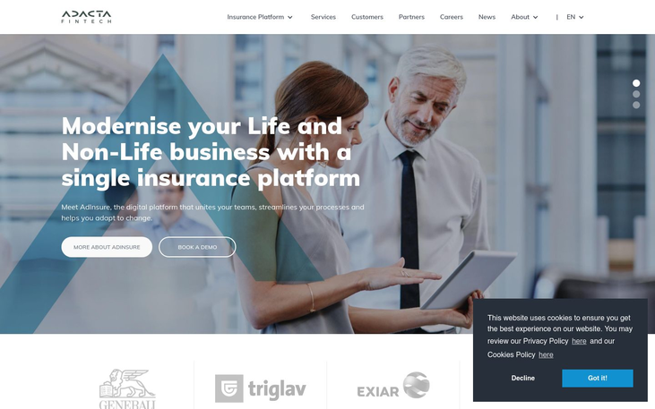 AdInsure - P And C Insurance Software