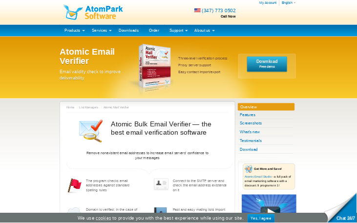 Atomic Email Verifier - Email Verification Software
