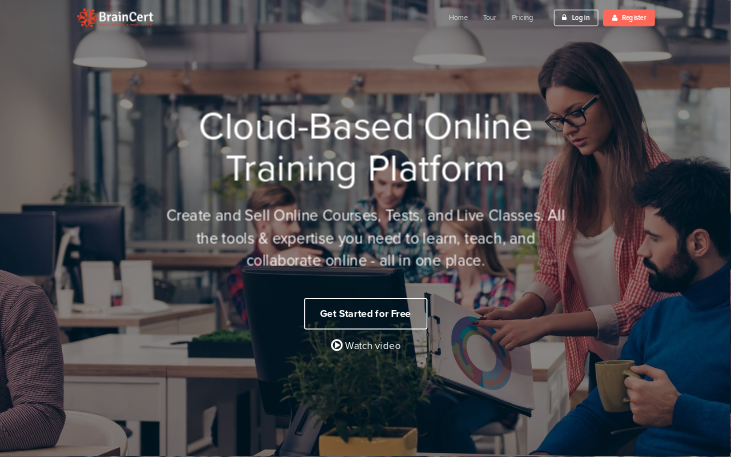 BrainCert E-learning Platform