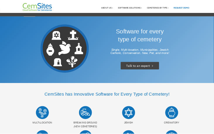 CemSites Cemetery Software