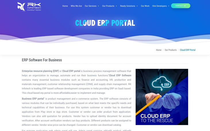Clod ERP Portal - Accounting Software