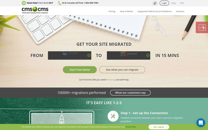 CMS2CMS - Data Migration Software
