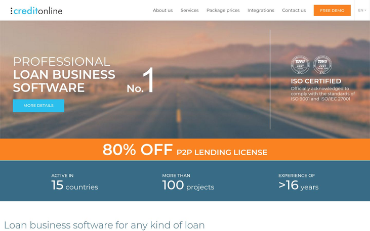 CreditOnline - Loan Management Software