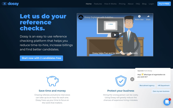 Dossy - Human Resource Software