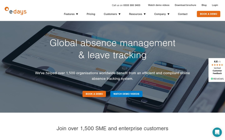 e-days - Absence Management Software