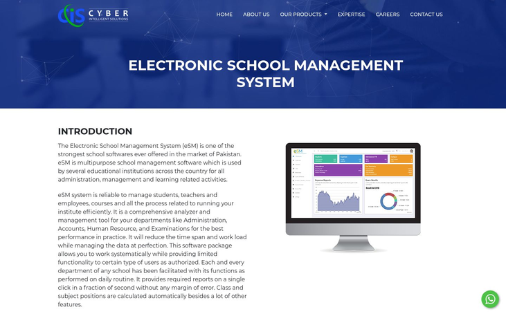 Electronic School Management System