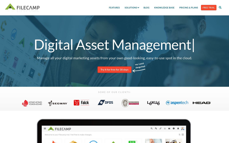 Filecamp - Digital Asset Management Software