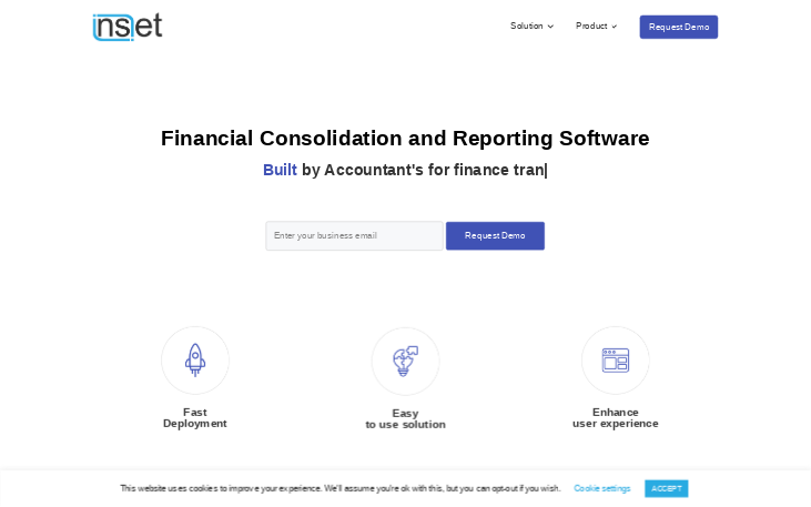 Financial Consolidation and Reporting software