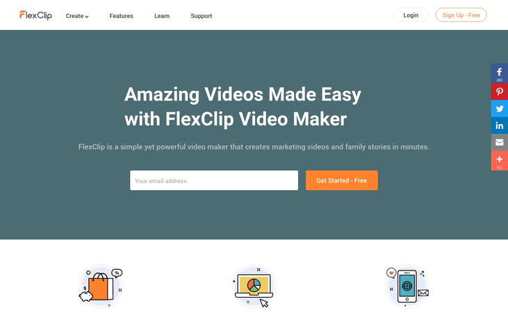 FlexClip - Video Editing Software