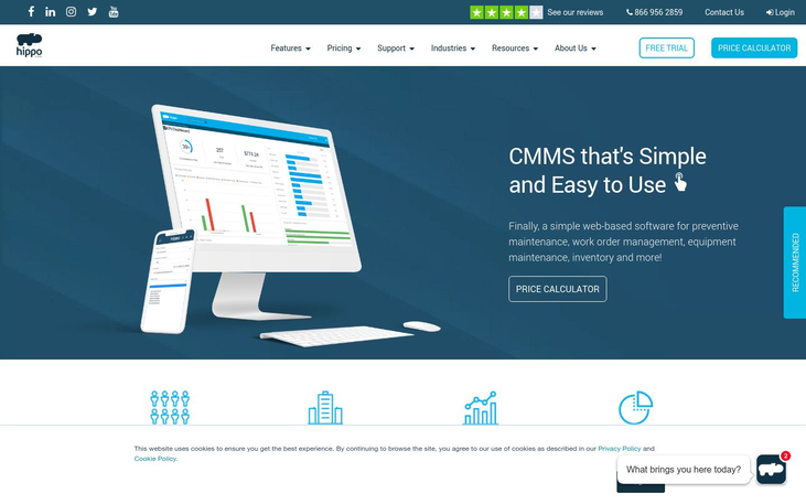 Hippo CMMS - Maintenance Management Software