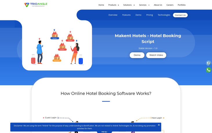Hotel Booking Script | Trioangle