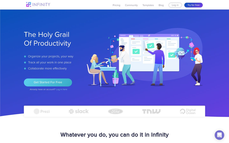 Infinity - Project Management Software