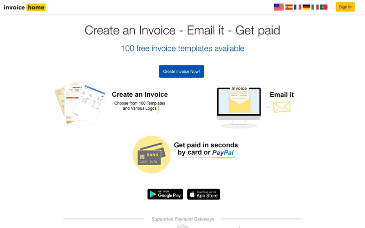 Invoice Home - Accounting Software
