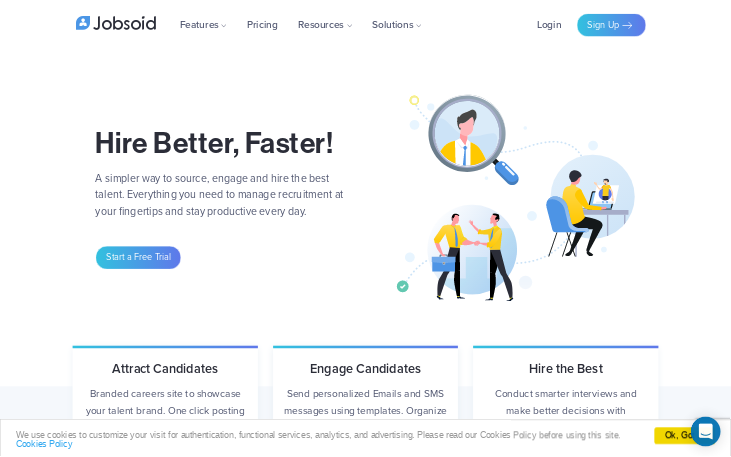 Jobsoid - Applicant Tracking Software